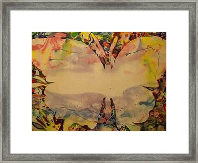 Butter Fly 2 Framed Print