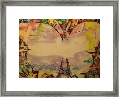 Butter Fly 2 Framed Print