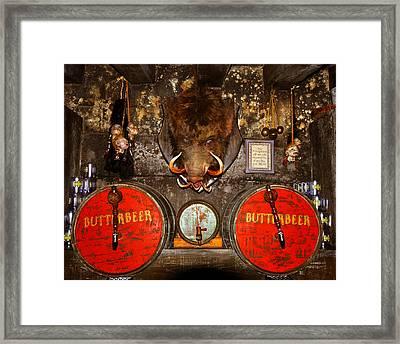 Butterbeer Bar Framed Print by David Lee Thompson
