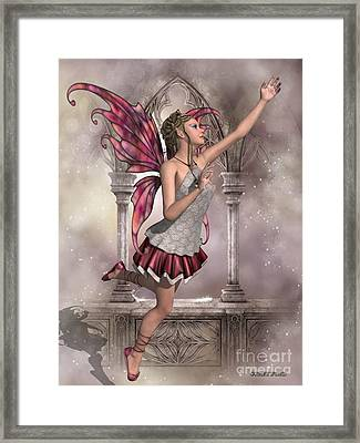 Buttercup Fairy Framed Print by Corey Ford