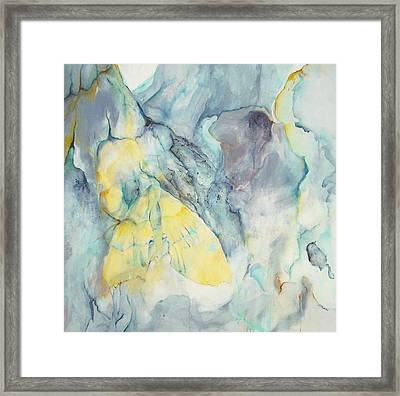 Butterflage Framed Print