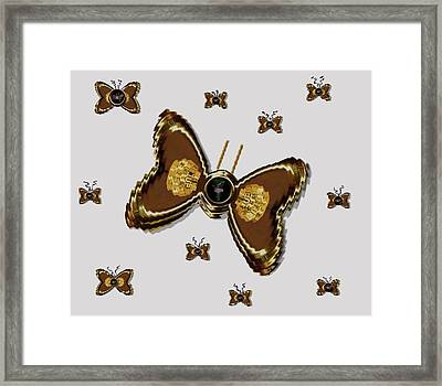 Butterflies For The Worlds  Future Framed Print by Pepita Selles
