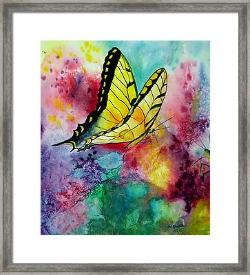 Butterfly 2 Framed Print by Dee Carpenter