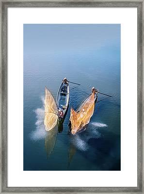 Butterfly-2 Framed Print by Okan YILMAZ