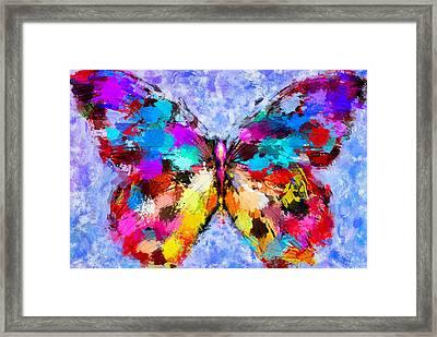 Butterfly 2 Framed Print by Yury Malkov