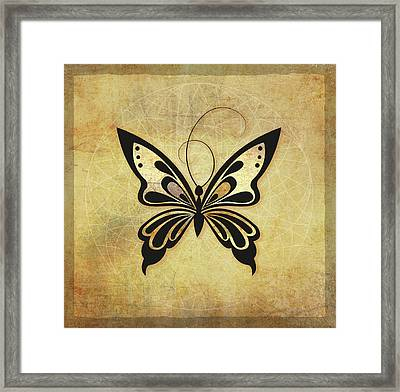 Butterfly 4a Framed Print