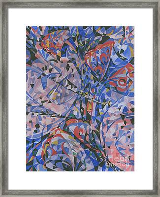 Butterfly Framed Print by Andrey Soldatenko
