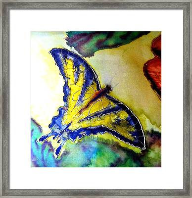 Butterfly Framed Print by Beverly Johnson