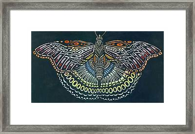 Butterfly Bits Framed Print by Anne Havard