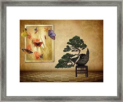 Butterfly Collection Framed Print by Jessica Jenney