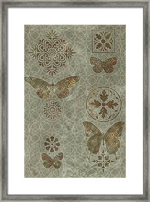 Butterfly Deco 2 Framed Print