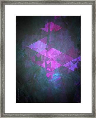 Framed Print featuring the digital art Butterfly Dreams by Mimulux patricia no No