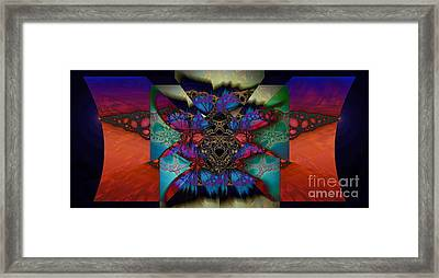 Butterfly Effect 2  Framed Print by Elizabeth McTaggart