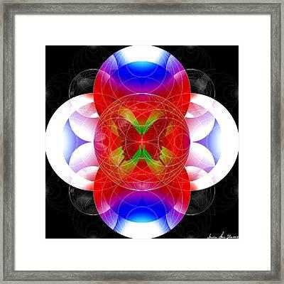 Butterfly Effect Framed Print by Iowan Stone-Flowers
