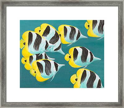Butterfly Fish Framed Print