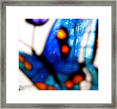 Butterfly Forest   A Framed Print by Debra     Vatalaro