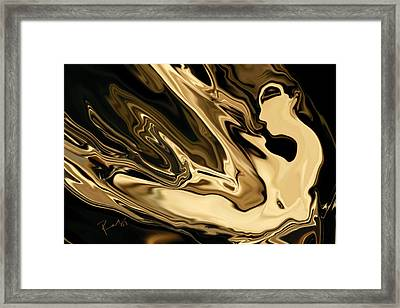 Butterfly Girl 3 Framed Print by Rabi Khan