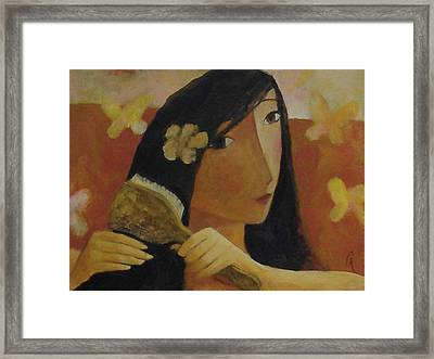 Butterfly Framed Print by Glenn Quist
