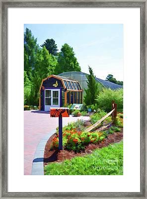Butterfly House 1 Framed Print