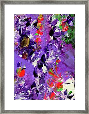 Butterfly Island Treasures Framed Print