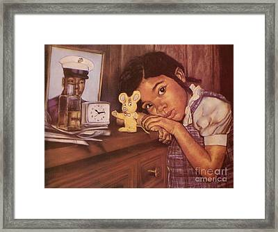 Butterfly Kisses Framed Print by Curtis James