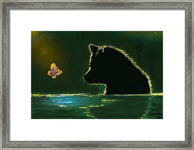 Butterfly Lullaby Framed Print