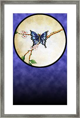 Butterfly Moon Framed Print