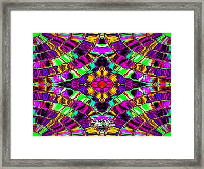 Butterfly Morph Framed Print by Barbara Tristan