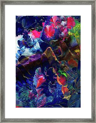 Butterfly Mountain Framed Print