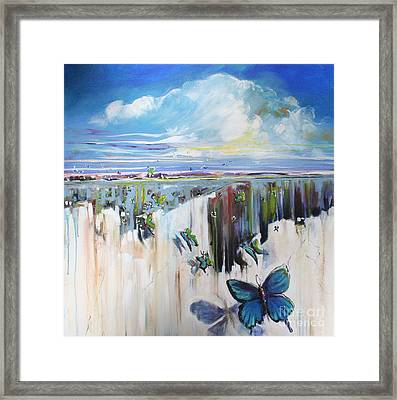 Butterfly Framed Print by Michele Hollister - for Nancy Asbell