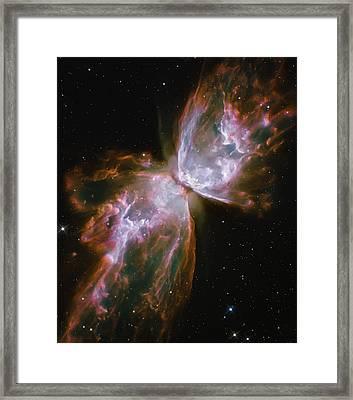 Butterfly Nebula Framed Print