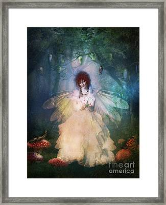 Butterfly Painter Framed Print by Shanina Conway