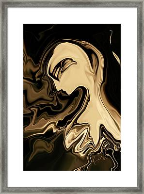 Butterfly Princess Framed Print by Rabi Khan