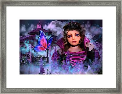 Butterfly Queen Framed Print