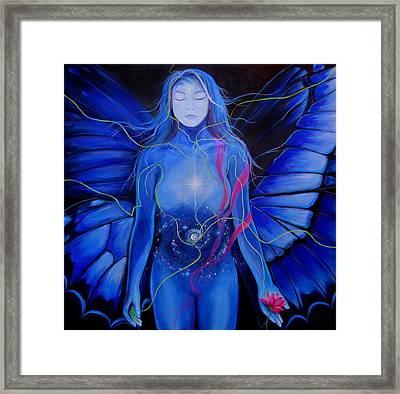 Butterfly Rush Framed Print by Patricia Ann Dees