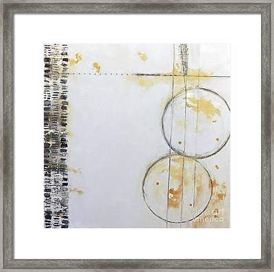Butterfly Tracks Framed Print by Gallery Messina