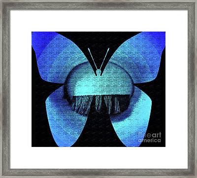 Butterfly Vision Framed Print