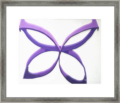 Butterfly Framed Print by Vonda Lawson-Rosa