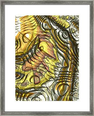 Butterfly Wing Framed Print
