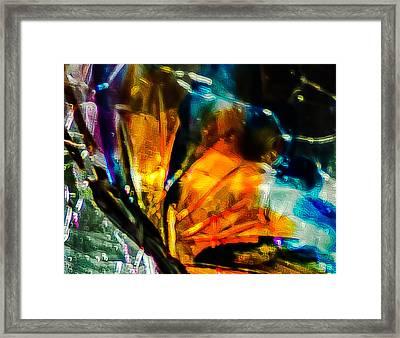 Butterfly Wings Framed Print