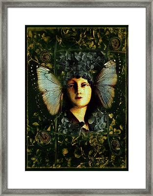 Butterfly Woman Framed Print