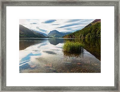 Buttermere Dawn Framed Print