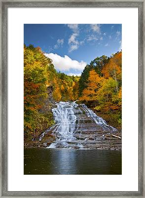 Buttermilk Falls 2 Framed Print by Mark Papke