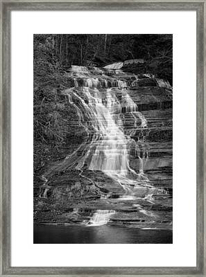Buttermilk Falls #2 Framed Print by Stephen Stookey