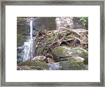 Buttermilk Falls Again Framed Print by Lisa Biczi