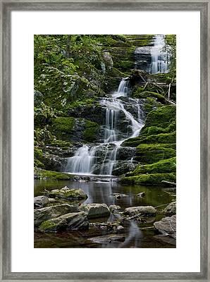 Buttermilk Falls Framed Print by Andrew Kazmierski