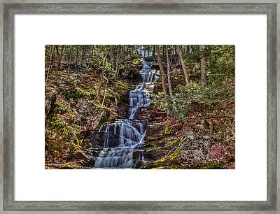 Buttermilk Falls Framed Print by Don Edwards