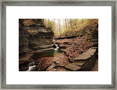Buttermilk Falls Framed Print by Jessica Jenney