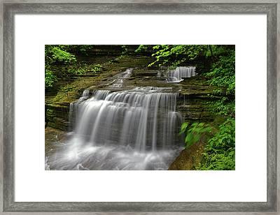 Buttermilk Falls State Park Framed Print