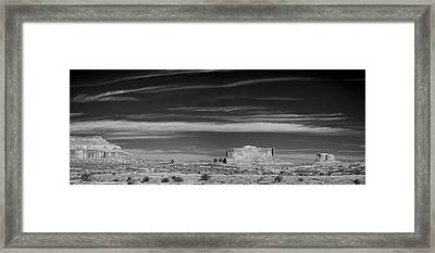 Buttes Of Moab Framed Print